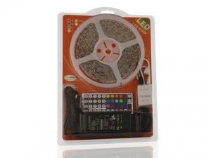 RGB Flexible LED Strip, 30 pcs 5050/m, in Blister Packing
