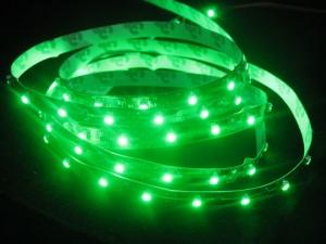 Green SMD 3528 Flexible LED Strip, 60 LEDs/m