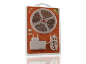 Warm White SMD 3528 LED Strip, Mini Blister Packing