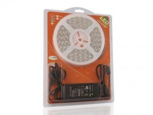 Warm White Flexible LED Strip, 60 pcs 5050/m, in Blister Packing