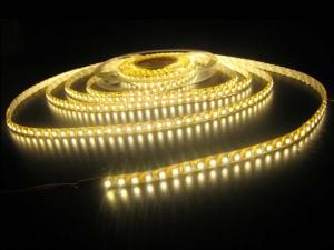 Warm White LED Strip, 60 5050 LEDs/m, IP65 Waterproof