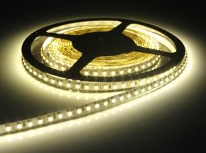 Warm White SMD 3528 Flexible LED Strip, 120 LEDs/m