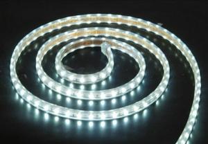 White Flexible LED Strip, 60 5050 LEDs/m, IP68 Waterproof