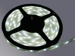 IP67 Flexible LED Strip, White, 30 pcs SMD 5050 LEDs/m