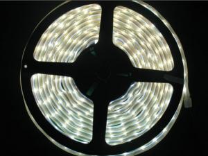 White SMD 3528 Flexible LED Strip, 60 LEDs/m, IP67 Waterproof